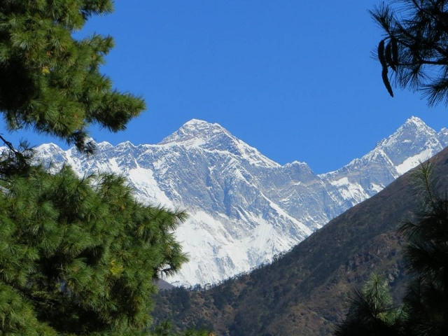 Everest first view