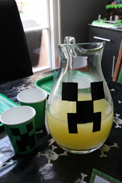 Minecraft drink ideas
