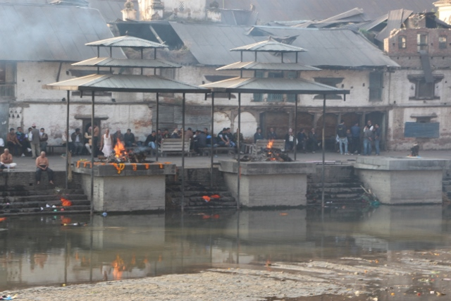 Cremation at Pashupatinath temple