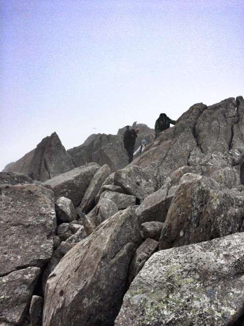 Route to Tryfan