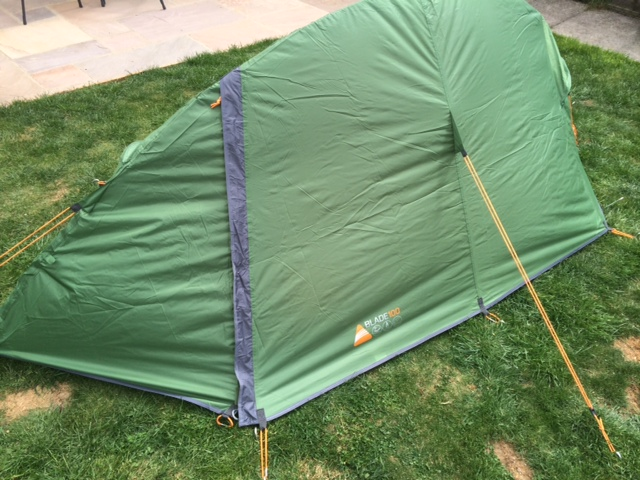 photo 1 & Vango 1 Man Blade 100 Outdoor Tent - Review - Adventure Mummy