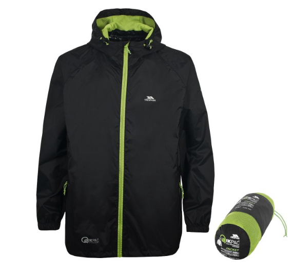 Trespass Qikpac waterproof jacket