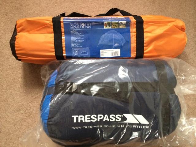 Trespass Doze 3 Season Sleeping Bag TP1218