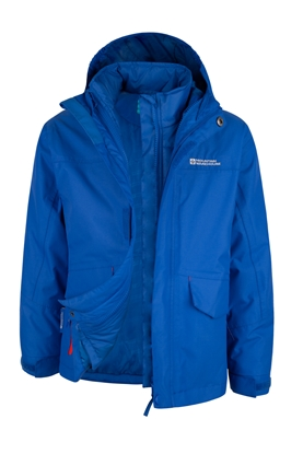 710b7ba5c 3 in 1 Kids Waterproof Jacket - Mountain Warehouse - Review ...